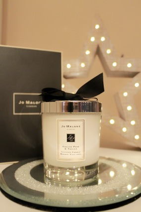 Engraved Jo Malone candle