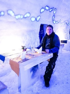 In the Ice Restaurant