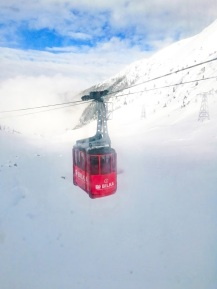 Cable car to Balea Lac